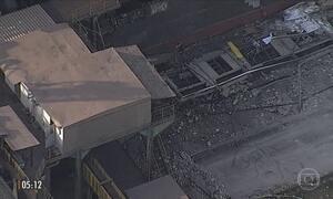 Explosão provoca a morte de dois funcionários em fábrica da Gerdau
