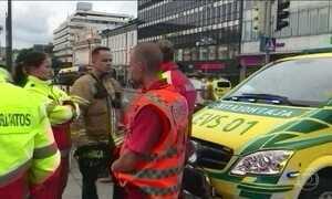 Finlândia reforça segurança após homem esfaquear várias pessoas
