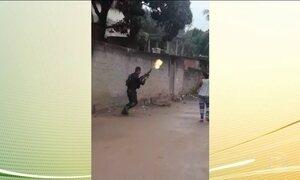 Vídeo mostra o clima de hostilidade entre PMs e moradores de comunidade no RJ