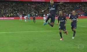 Neymar participa de todos os gols em seu segundo jogo pelo PSG, sua estreia em Paris