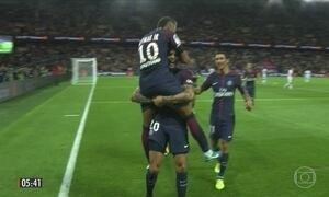 Neymar lidera o PSG na vitória do time pelo campeonato francês