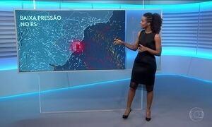 Previsão de chuva no Rio Grande do Sul e em Santa Catarina