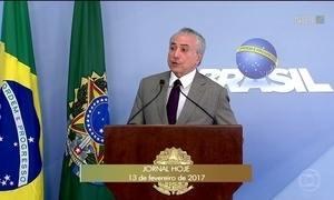 Palácio do Planalto informa que não vai afastar os ministros denunciados