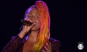 Alicia Keys anima público do Rock in Rio
