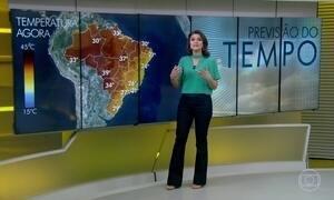 Brasil tem mais um dia seco na previsão do tempo