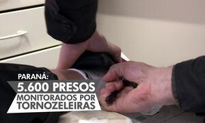 Paraná é o maior estado com número de presos com tornozeleira eletrônica