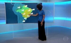 Confira a previsão do tempo para o sábado (23) em todo o país
