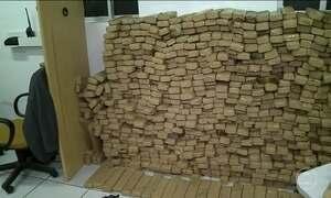 Polícia do MA apreende três toneladas de maconha