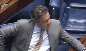 Senado ainda não foi notificado do afastamento de Aécio Neves