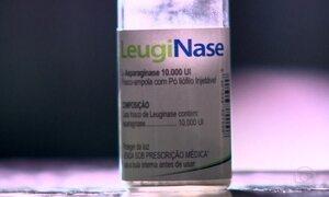 Justiça proíbe Ministério da Saúde de comprar novos lotes de Leuginase