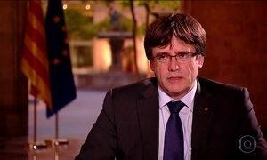 Presidente catalão diz que declaração de independência é questão de dias