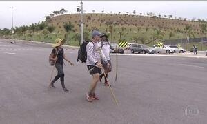 Milhares de pessoas começam a chegar ao Santuário de Aparecida