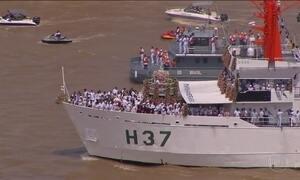 Círio de Nazaré reúne mais de 400 embarcações em romaria fluvial
