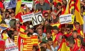 Espanha tem novas manifestações contra a separação da Catalunha