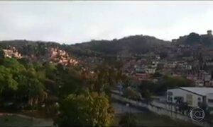 Morador da Rocinha, no Rio, é atingido por bala perdida durante o banho