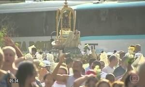 Show encerra celebrações pelos 300 anos do encontro da imagem de Nossa Senhora Aparecida