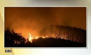 Incêndios florestais provocam destruição e mortes em Portugal e na Espanha