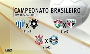 Corinthians enfrenta o Grêmio pelo Campeonato Brasileiro