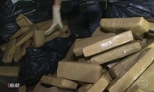 Quadrilha usava avião próprio para distribuir drogas no Brasil