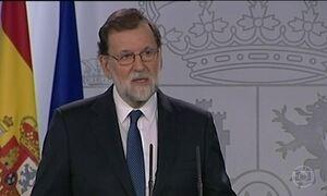 Senado espanhol vota proposta de Rajoy de tirar governo catalão do poder
