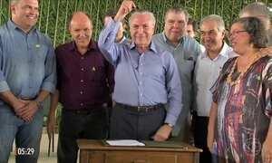 Aliados contabilizam votos para garantir o arquivamento da 2ª denúncia contra Temer