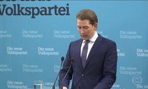 Extrema-direita negocia participação em coalizão do governo na Áustria