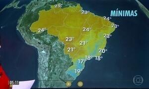 Alerta de temporais em SP, MS, norte e oeste do PR e no sul de MG
