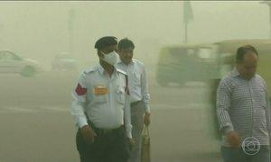 Capital da Índia proíbe entrada de caminhões em medida contra a poluição