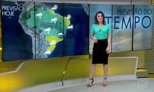 Final de semana será de chuva em Brasília, Goiânia e sul de Minas Gerais