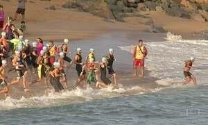 Atleta desaparece durante uma das provas do Ironman, em Fortaleza