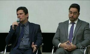 Sérgio Moro e Marcelo Bretas participam de encontro na Petrobras sobre combate à corrupção