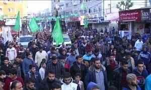 Bombardeios de Israel matam dois palestinos na Faixa de Gaza