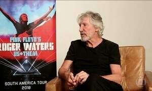 Roger Waters promove nova turnê no Brasil
