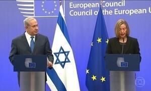 Netanyahu pede que países reconheçam Jerusalém como capital de Israel