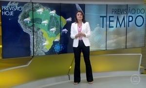 Previsão é de bastante chuva em Brasília
