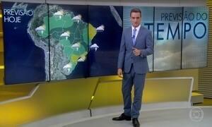 Previsão é de pancadas de chuvas isolada no Sul do Brasil