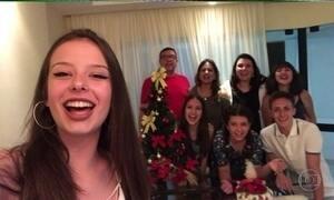 Telespectadores enviam fotos da ceia de Natal em família