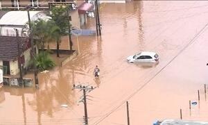 Chuvas causam mortes e transtornos em Santa Catarina
