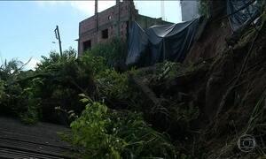Sobe para três o número de mortos por causa das chuvas fortes em Santa Catarina