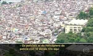 Ação da Polícia Civil deixa PMs sob linha de tiros de UPP