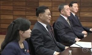 Representantes da Coreia do Norte e do Sul voltam a se encontrar na zona desmilitarizada