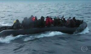 Turquia resgata 161 imigrantes que tentavam chegar à Grécia