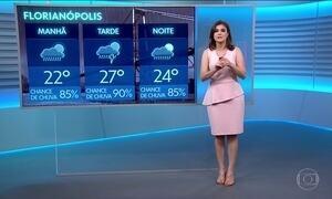 Confira a previsão do tempo para a quarta-feira (17) em todo o país