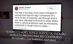 Donald Trump desmente assessor e diz que não mudou de opinião sobre muro no México