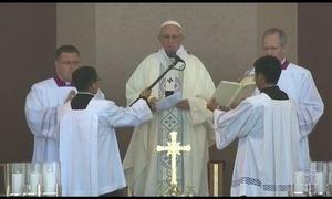 Papa Francisco visita a cidade de Trujillo, no Peru
