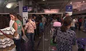 Apagão atrasa 21 voos no aeroporto de Salvador
