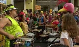 Blocos de carnaval já estão nas ruas do Rio
