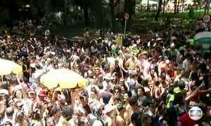 Blocos lotam as ruas de São Paulo
