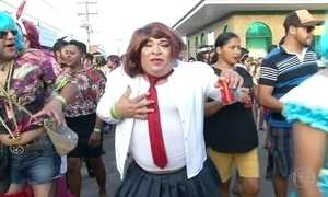 Foliões lotam as ruas em diversas partes do país para curtir o carnaval