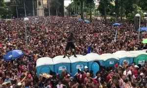 Carnaval do Rio é marcado por desordem urbana